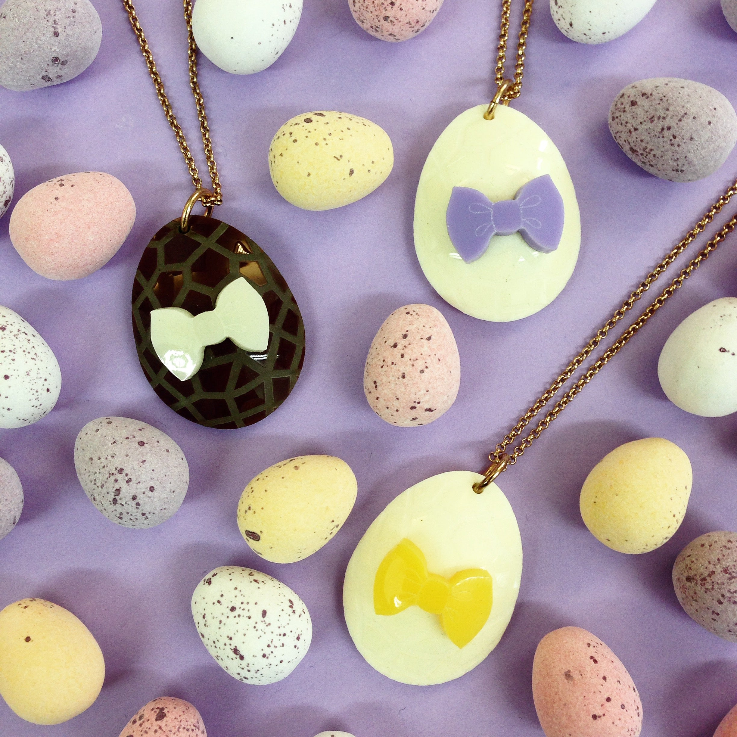 5 WAYS TO WIN AN EASTER EGG NECKLACE