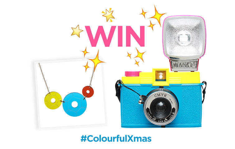 Win a Sequin Party Necklace and Lomography camera