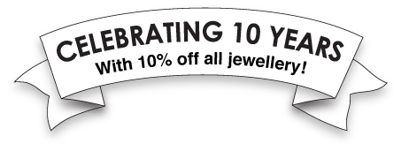 Ten Years of Tatty Devine (and 10% off for you!)