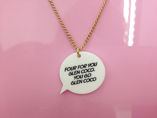 Speech Bubble Necklaces of the Week