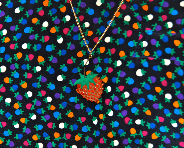 Tatty Devine designs for the William Morris Gallery
