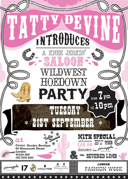 Tatty Devine goes wild wild west!