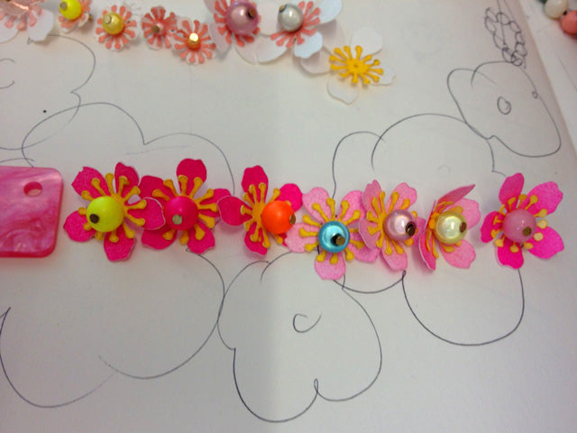 How It's Made: Acid Cherry Blossom Jewellery