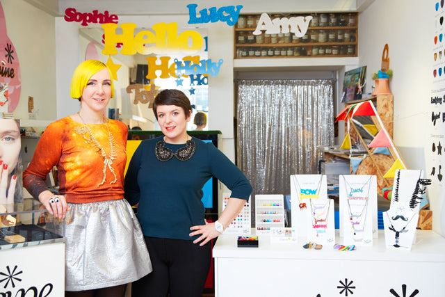 Tatty Devine awarded MBEs in New Year Honours list
