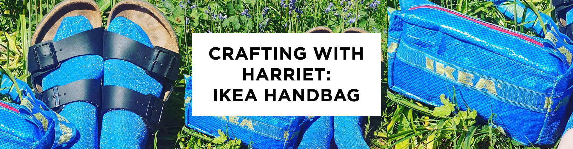 Crafting at Home With Harriet: IKEA bag