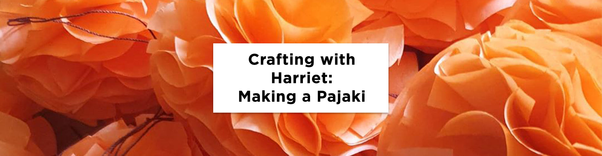 Crafting at Home With Harriet: Making a Pajaki