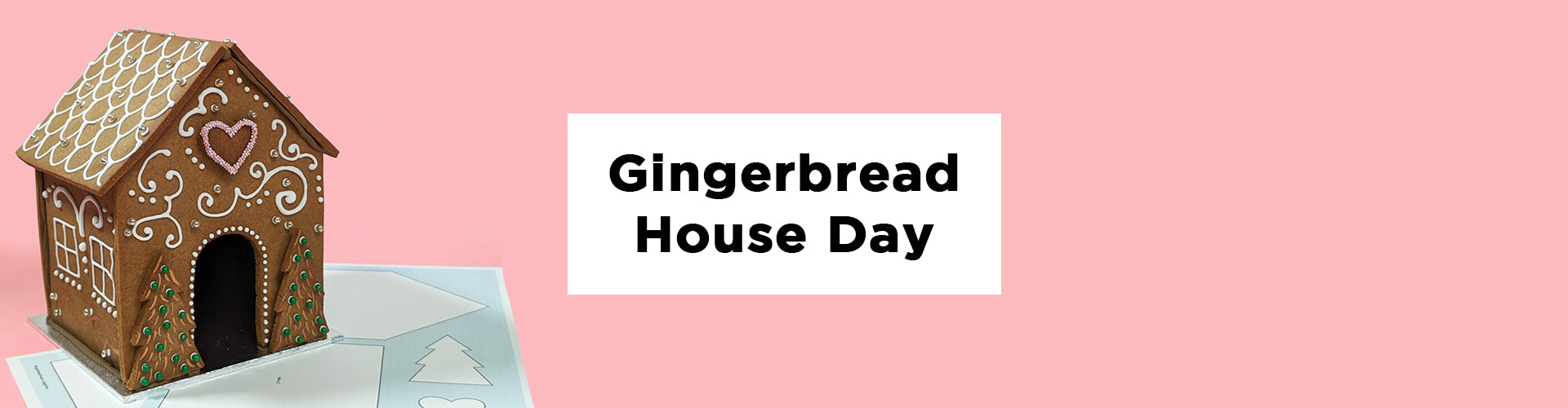 A Gingerbread House tutorial with Maid of Gingerbread