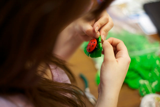 HOW IT'S MADE: HOT HOUSE LADYBIRD NECKLACE