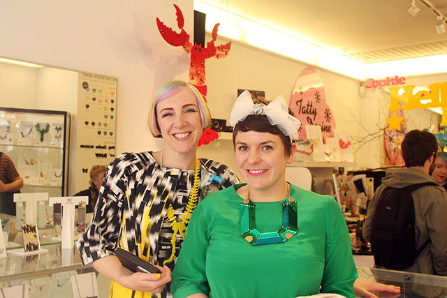 TATTY DEVINE RECEIVE MBES AT BUCKINGHAM PALACE
