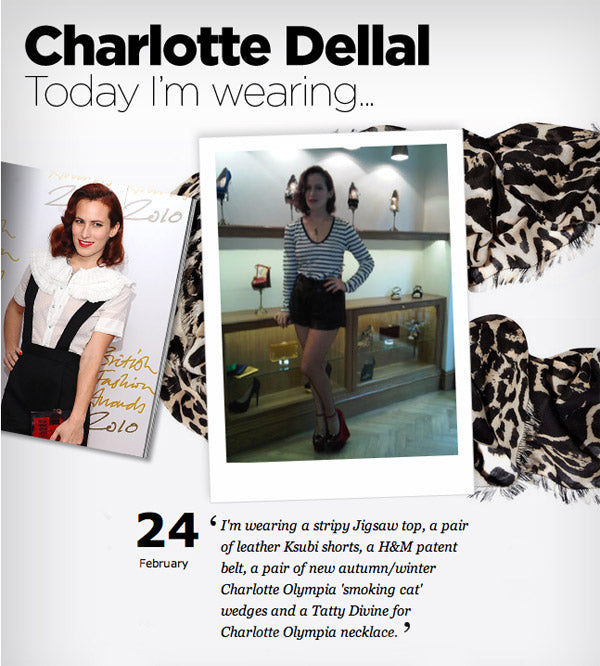Tatty Devine for Charlotte Dellal