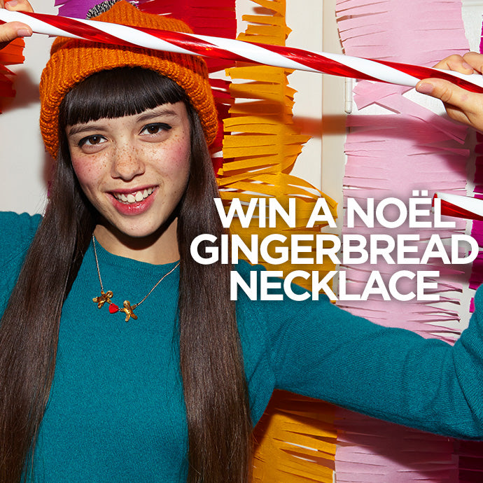 WIN A NOËL GINGERBREAD NECKLACE