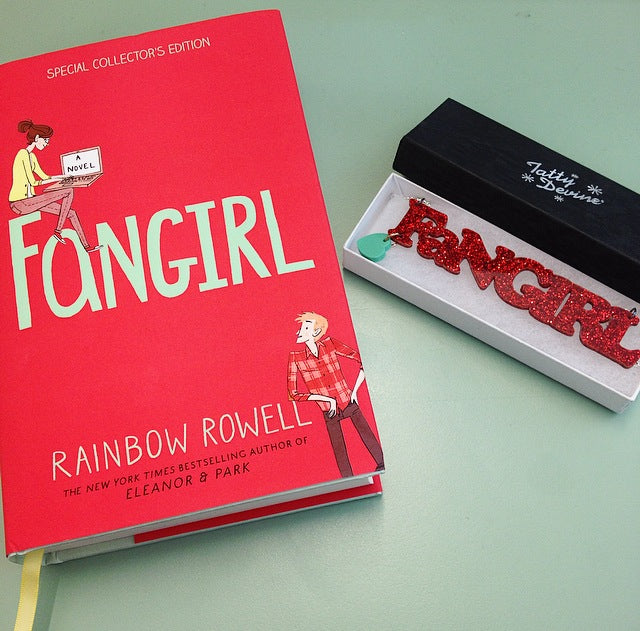 Competition: Win exclusive jewellery & a copy of Fangirl!