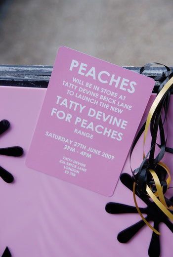 Peaches in store jewellery launch!!!