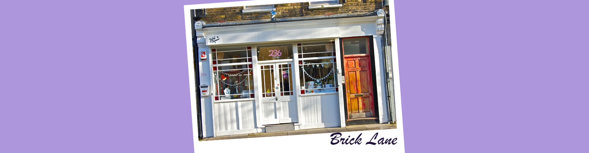 Visit Our Brick Lane Store!