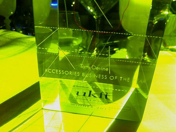 Tatty Devine win Accessories Business of the Year