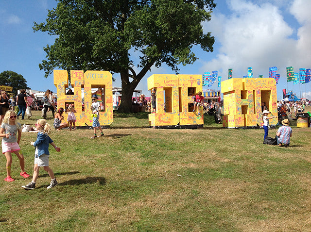 Tatty Devine takes a trip to Camp Bestival
