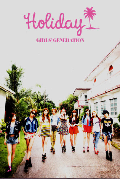 Girls' Generation in Tatty Devine