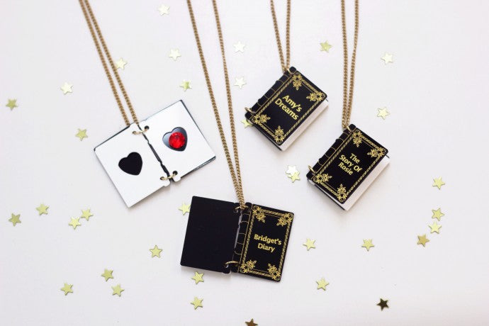 WIN A PERSONALISED ENCHANTED BOOK NECKLACE