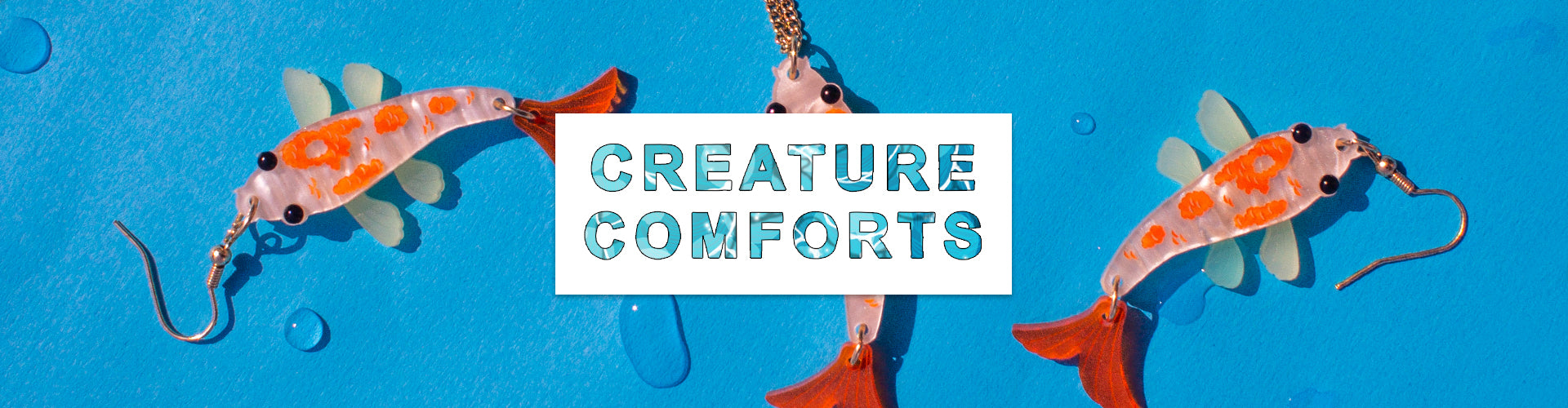 Creature Comforts to enjoy at home