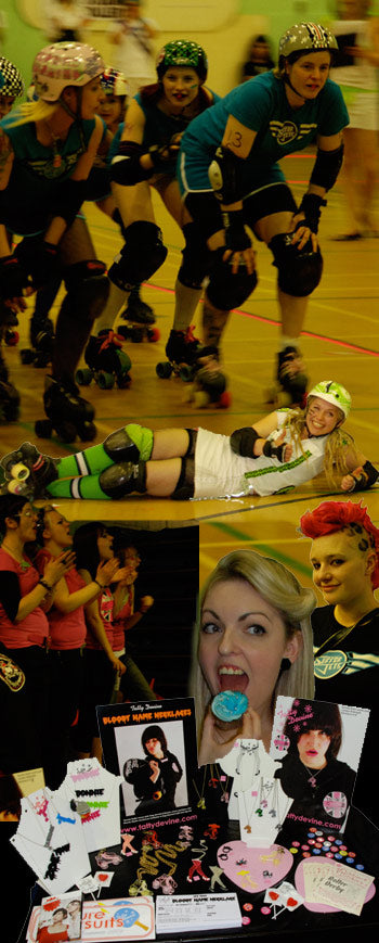 Tatty Devine goes to the roller derby!