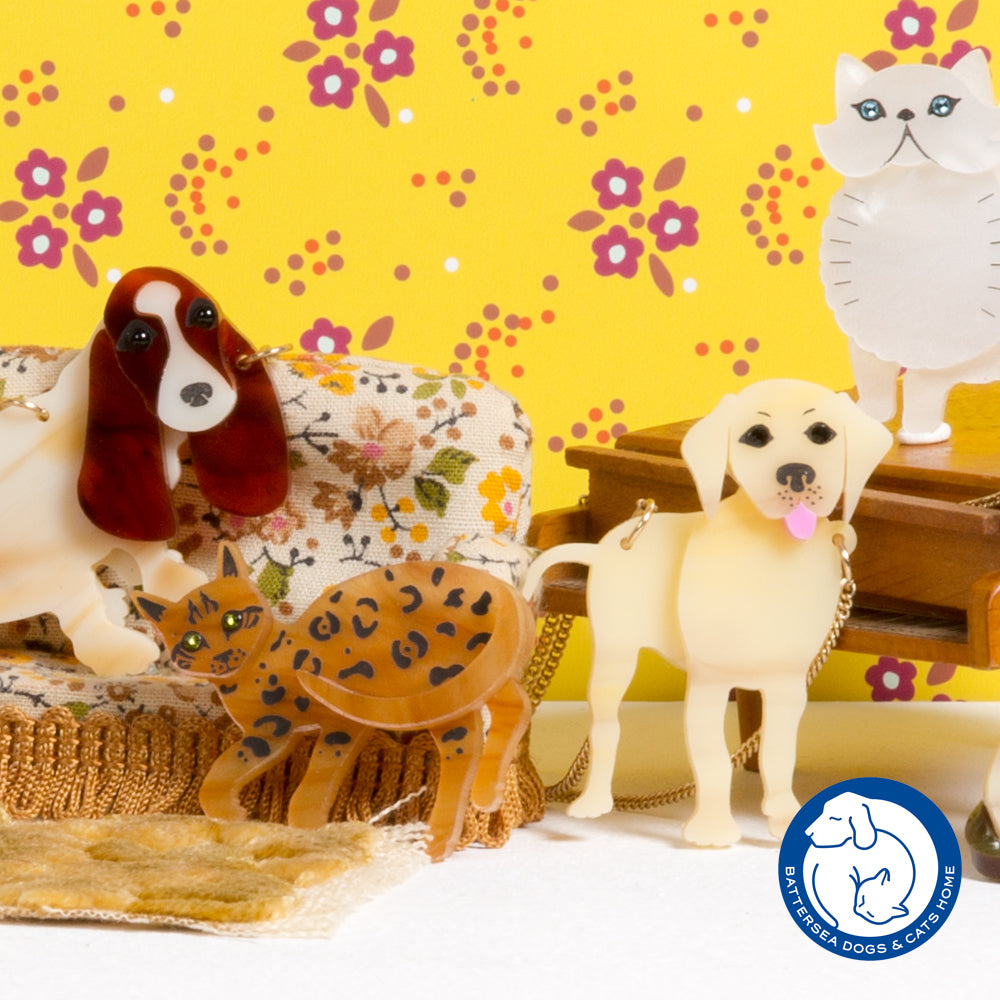 Battersea Dogs & Cats Home x Tatty Devine Collection