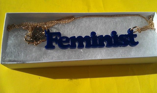 Rhiannon: My Feminist Name Necklace