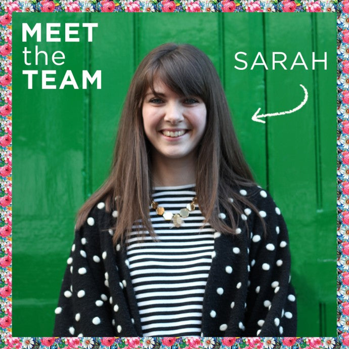 MEET THE TEAM - SARAH, JEWELLERY MAKER