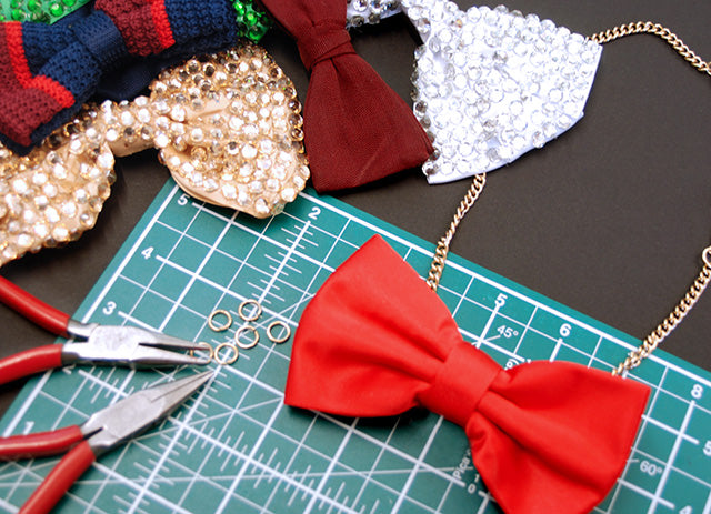 How to make a Bow Tie Necklace
