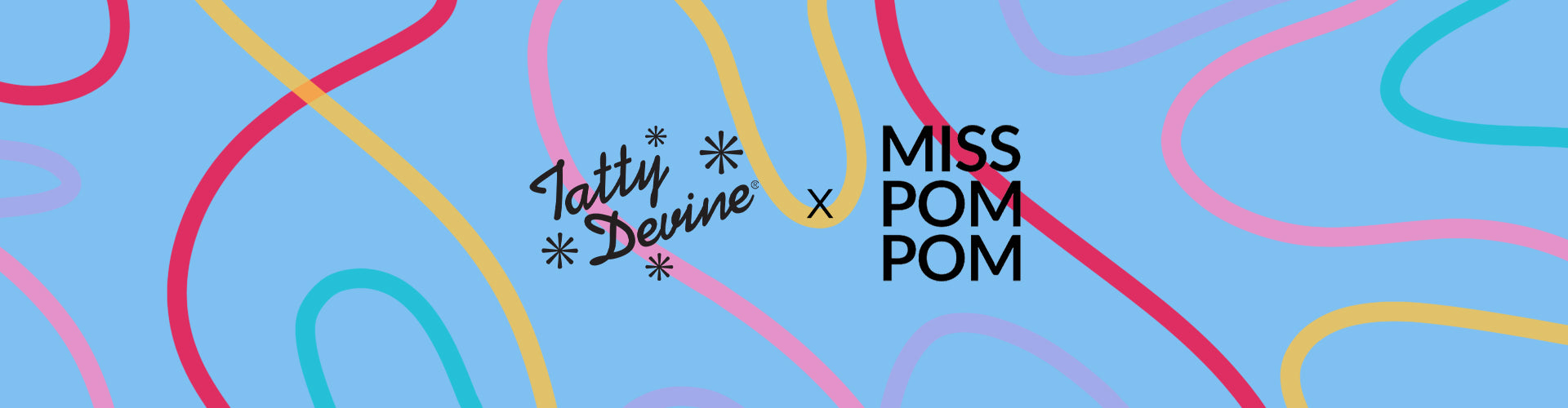Tatty Devine X Miss Pompom