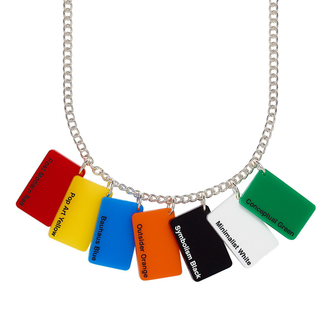 Colour Swatch Necklace Tatty Devine