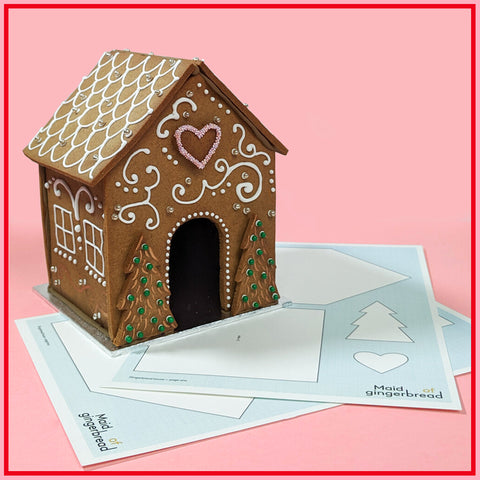 Maid of Gingerbread House Tutorial