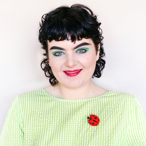 Ladybird Brooch by Tatty Devine