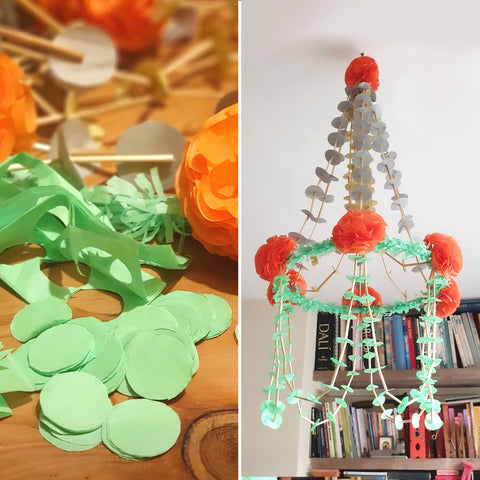 Pajaki chandelier: how to make