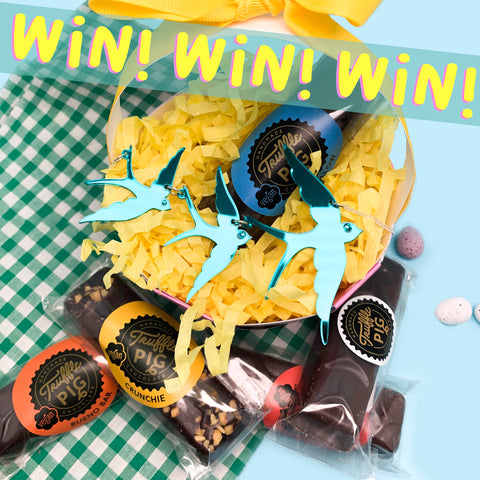 WIN with TrufflePig and Tatty Devine