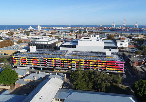 TOGETHER by Morag Myerscough, Perth, Australia