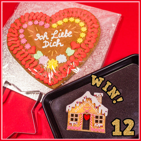 Gingerbread House Brooch giveaway
