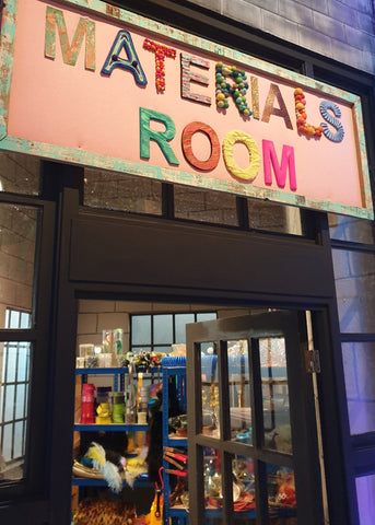 Materials Room - The Fantastical Factory of Curious Craft