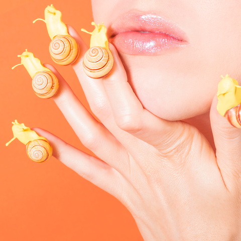 Snail Nails by Lizzie Darden