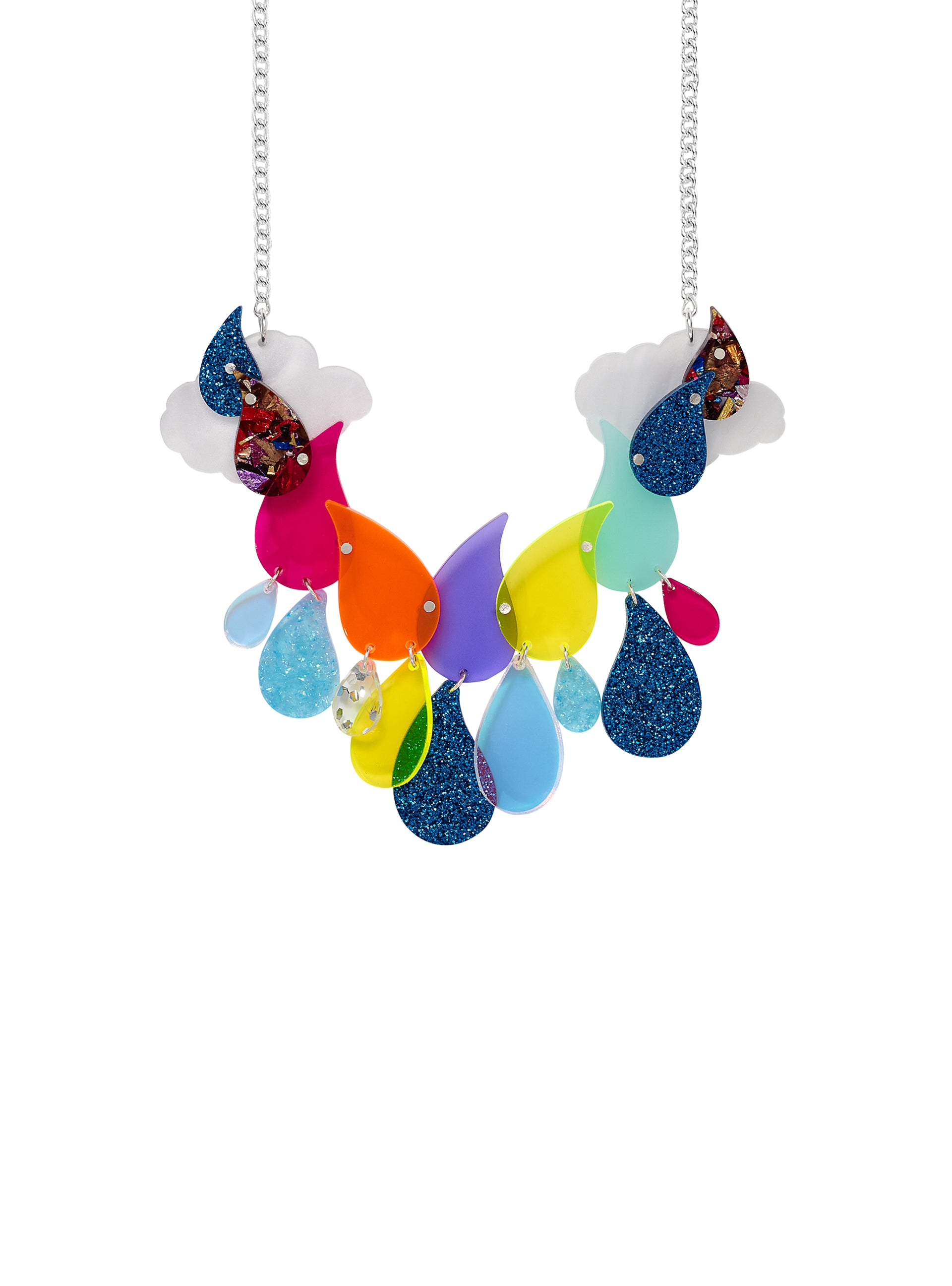 Acid-Rain-Statement-Necklace