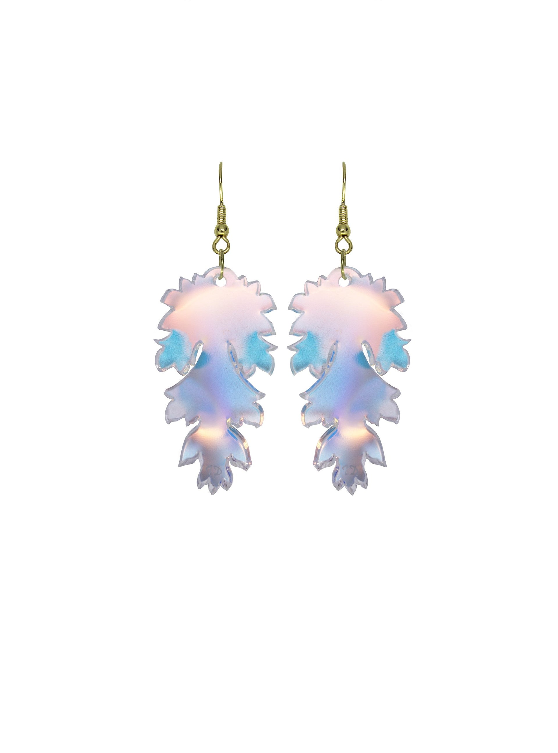 Ancanthus-Leaf-Earrings-Iridescent
