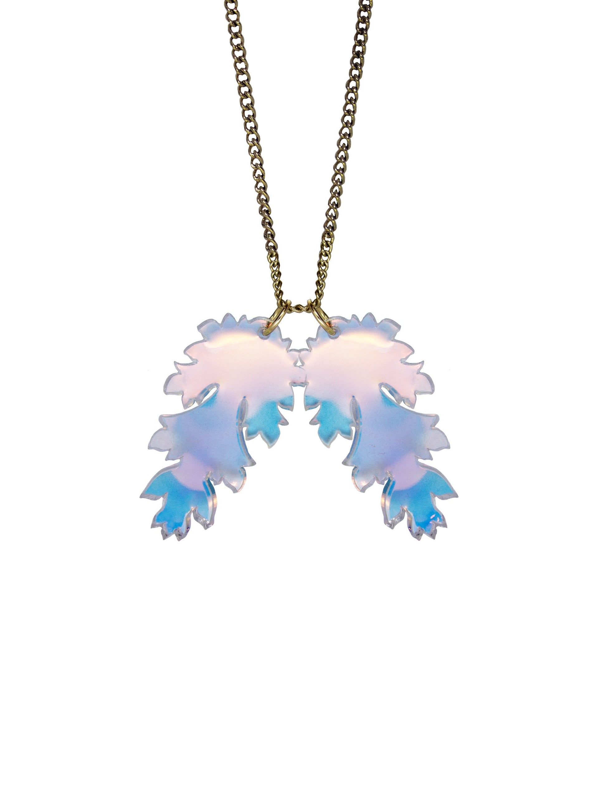 Ancanthus-Leaf-Necklace-Iridescent