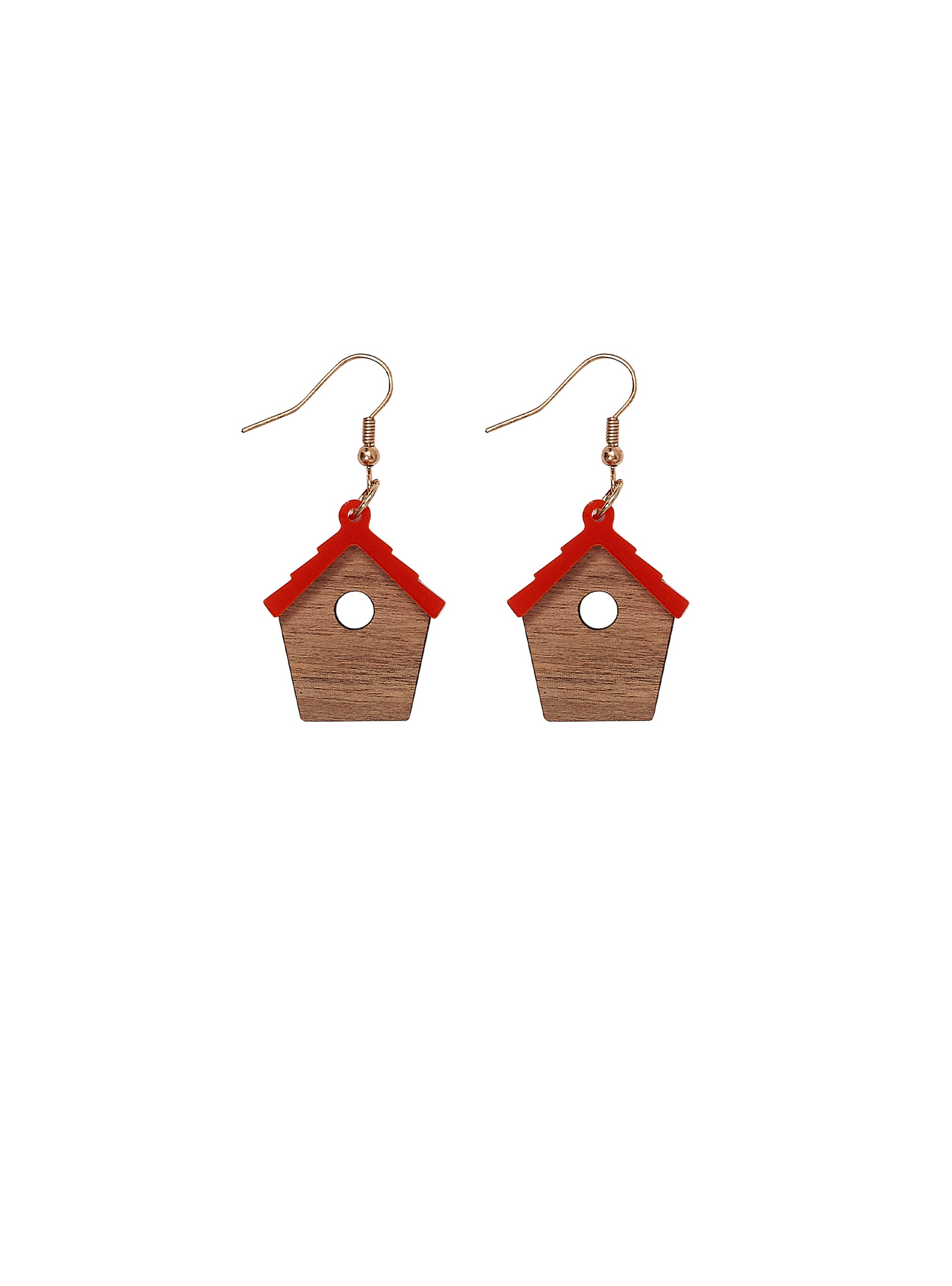 Bird-House-Earrings