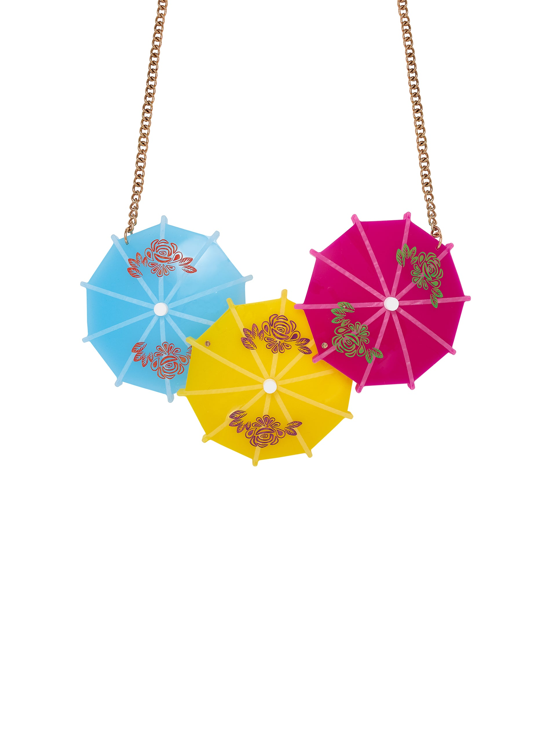 Cocktail-Umbrella-Statement-Necklace