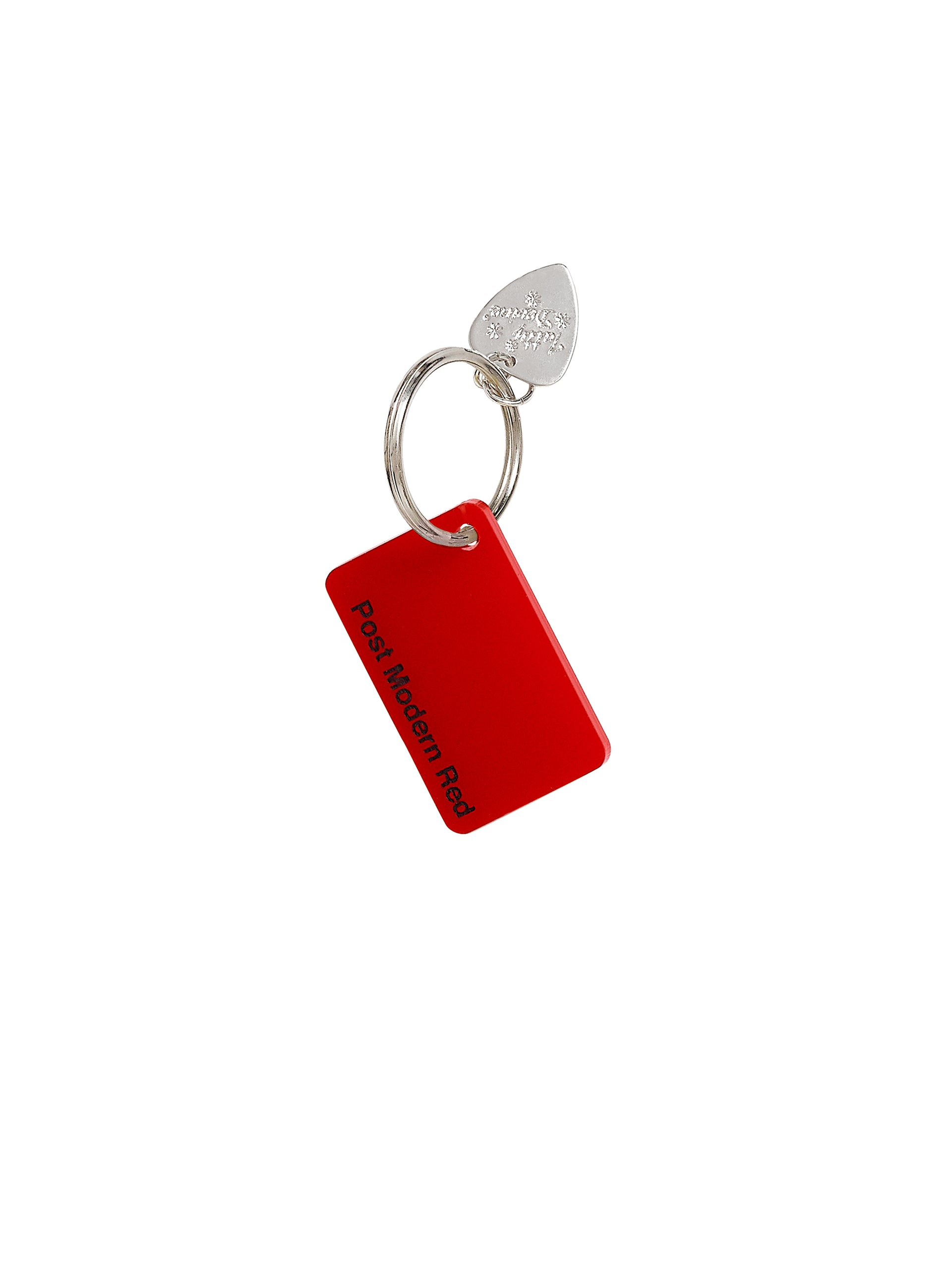 Colour-Swatch-Keyring-Post-Modern-Red