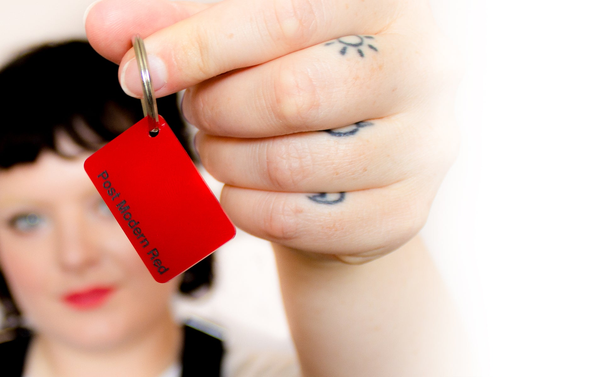 colour-swatch-keyring---post-modern-red
