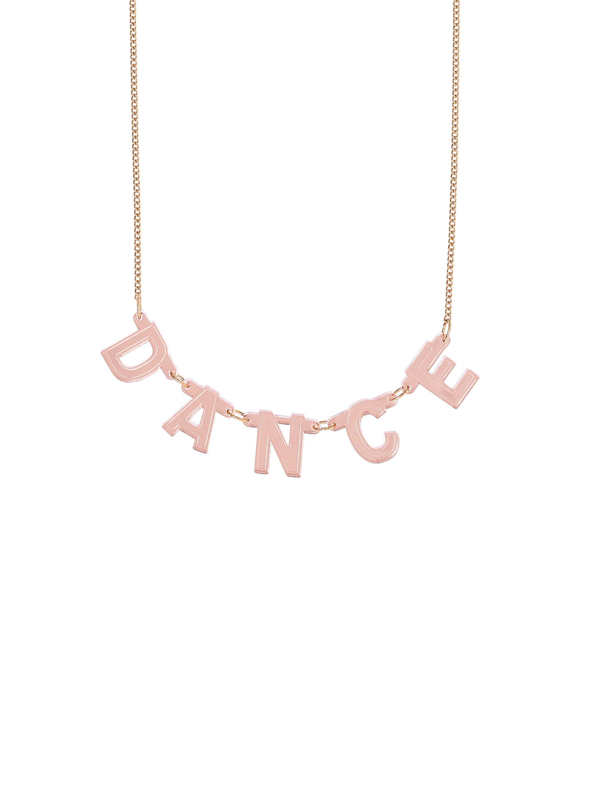 DANCE Foil Banner Necklace