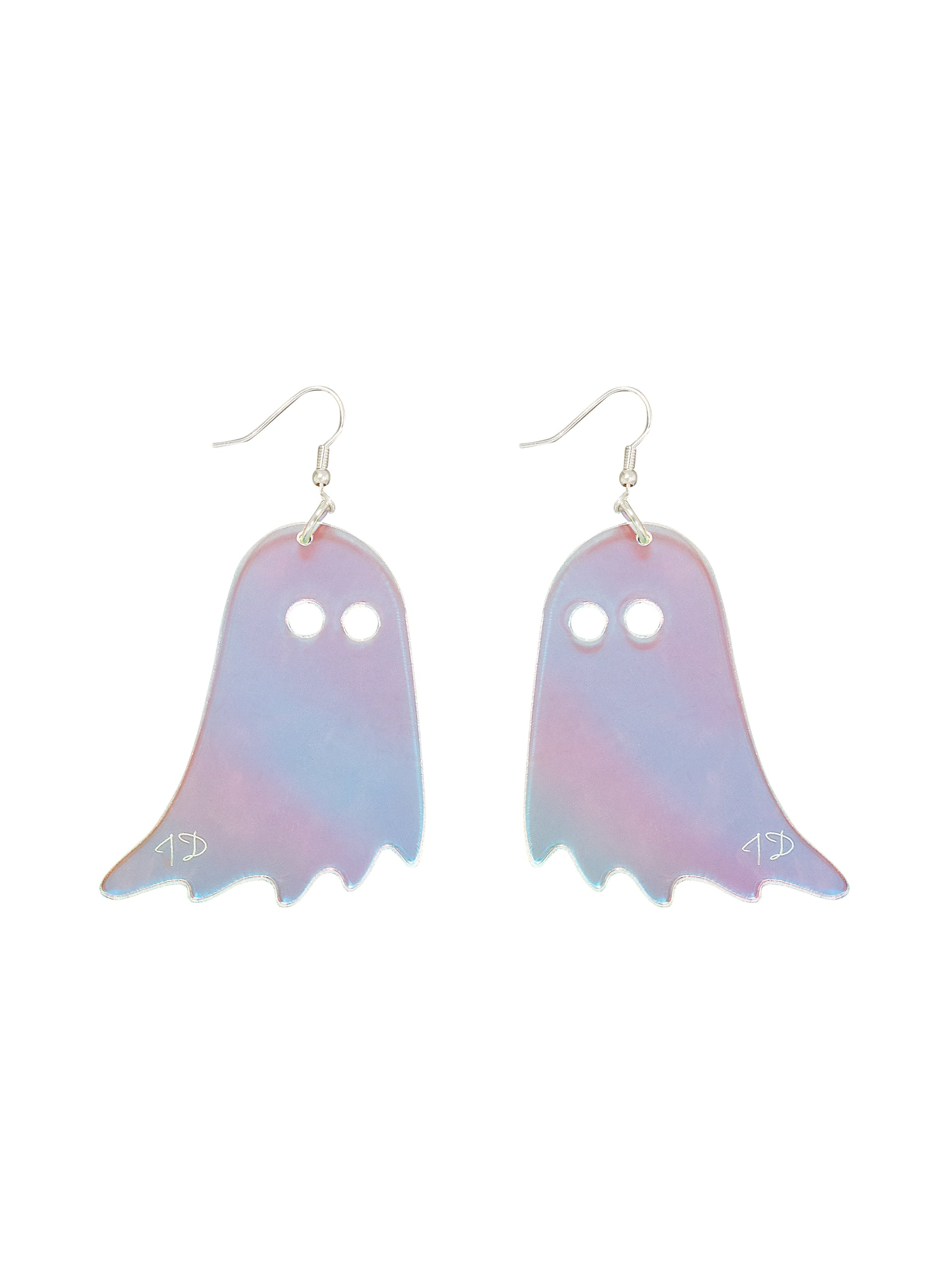 Ghost Earrings - Iridescent