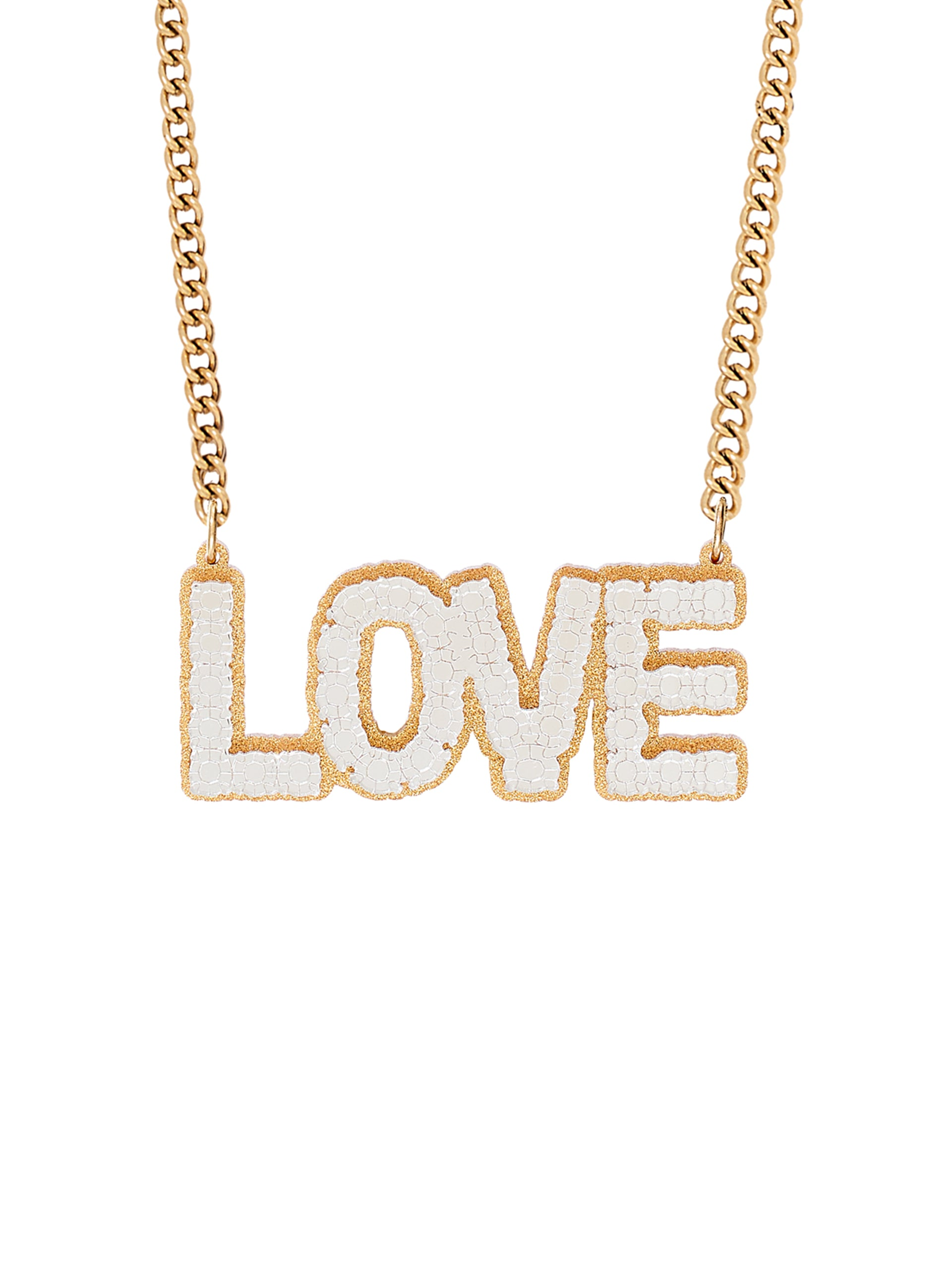 Faux Real Love Necklace