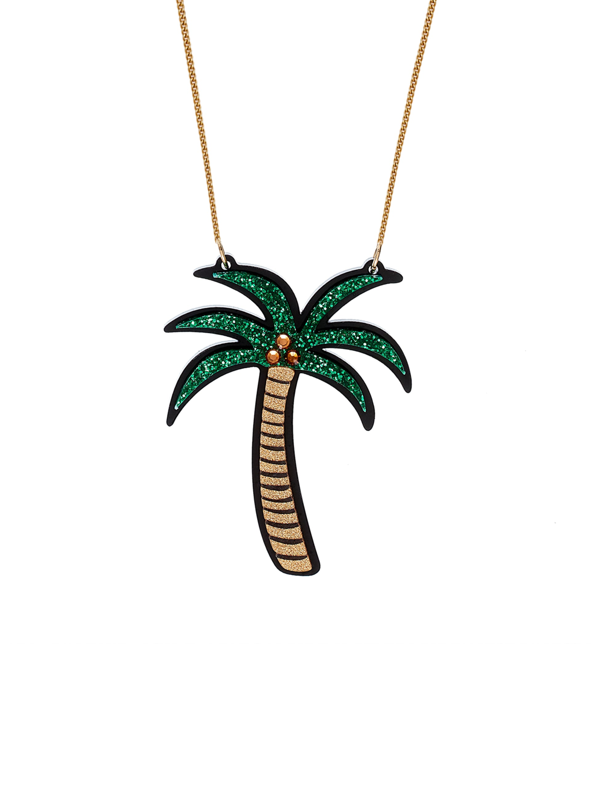 MOMO Palm Necklace