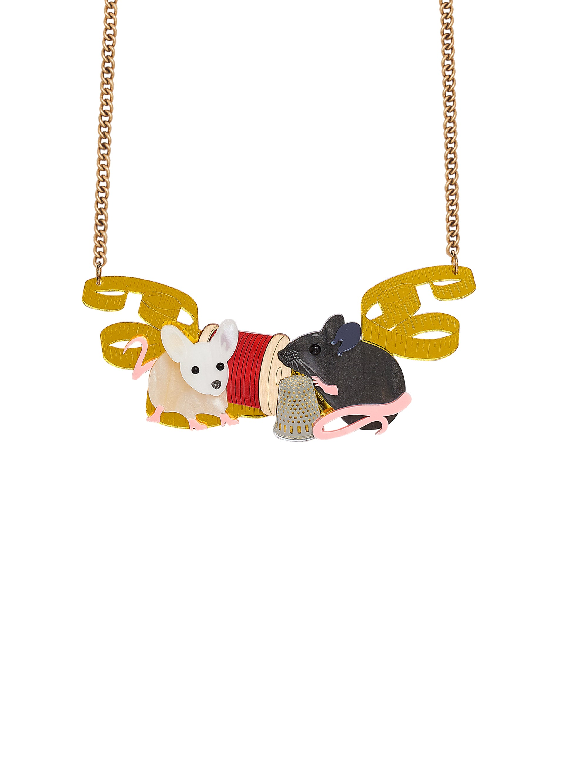 Magical Mice Necklace
